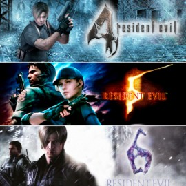 Resident Evil 4 | Resident Evil 5 | Resident Evil 6